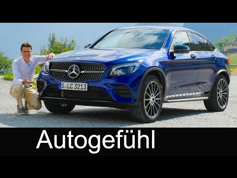 Mercedes GLC Coupé FULL REVIEW test driven all-new neu 250 & 350e 2016/2017