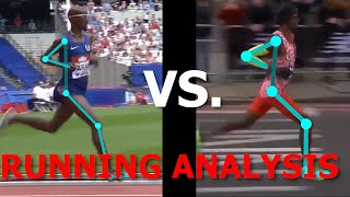 Running Analysis: Mo Farah Running the Marathon vs. 5K