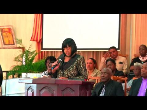 The Funeral Service of Abigale Natasha Jones Chapman & Olivia Chapman