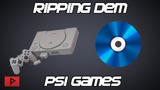 [How To] Rip and Burn PSX (PS1) Games to CD-R Or Make Disc Images
