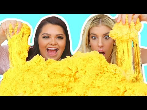 Download Youtube: DIY GIANT CLOUD SLIME! Coolest Slime Ever!