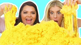 DIY GIANT CLOUD SLIME! Coolest Slime Ever!