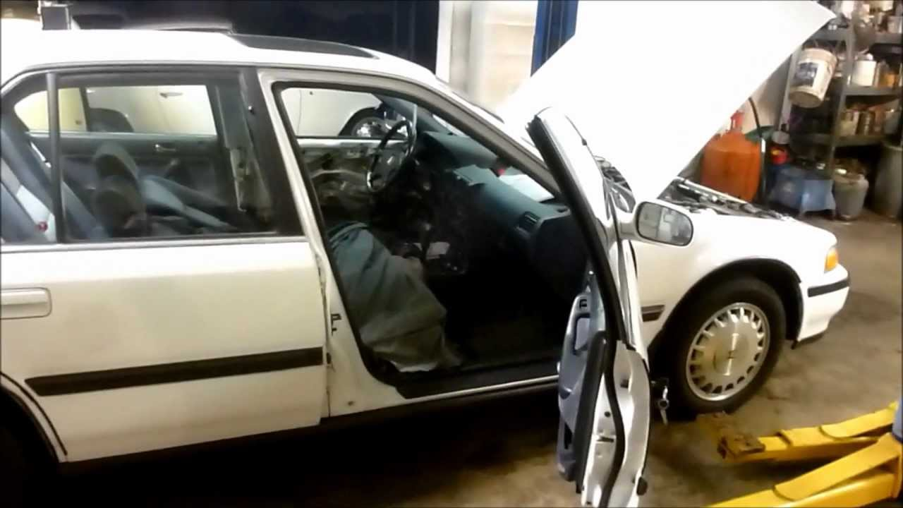 Problem Solving 89 94 Honda Accord Drivers Door That Is Stuck Shut Youtube