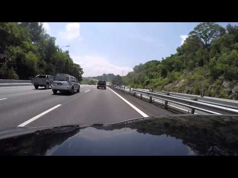 Shah Alam to KL in under 3 minutes (Malaysia)