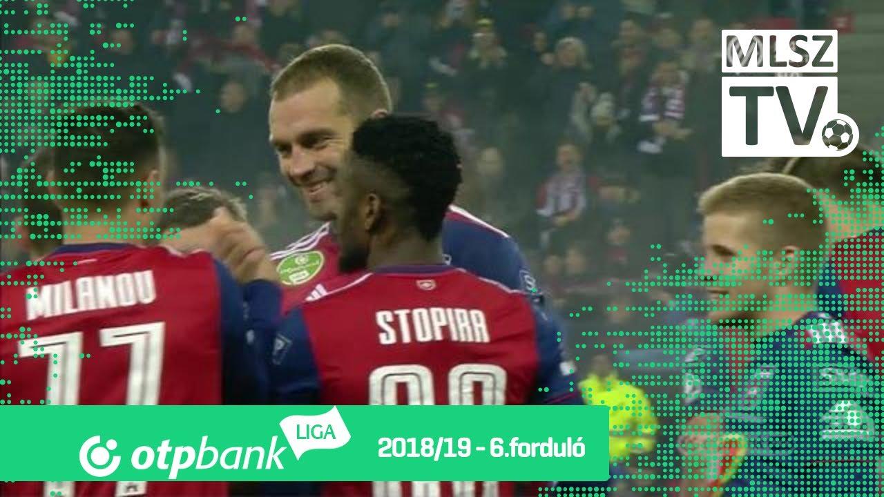 Juhász Roland gólja a Mol Vidi FC - Újpest FC mérkőzésen