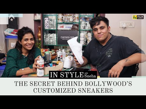 The Secret Behind Bollywood's Customised Sneakers | Chaitanya Dixit | In Style with Sneha