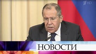 Близорукой позицией Запада назвал Сергей Лавров ситуацию вокруг пленных боевиков в Сирии.