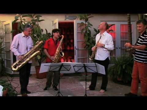 Iturralde Suite performed by the Italian Saxophone Quartet