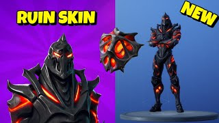 New Week 8 RUIN SKIN + PICKAXE In-Game Fortnite