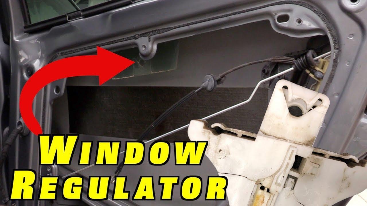 w//Peg-Dowel Rear Left RegulatorFix Window Regulator Repair Clip for VW Passat B5 B5.5 B6 B7 Driver Side 1