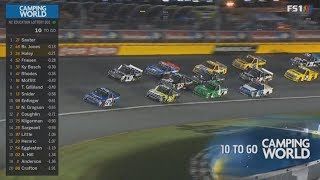 NASCAR Camping World Truck Series 2018. Charlotte Motor Speedway. Last Laps