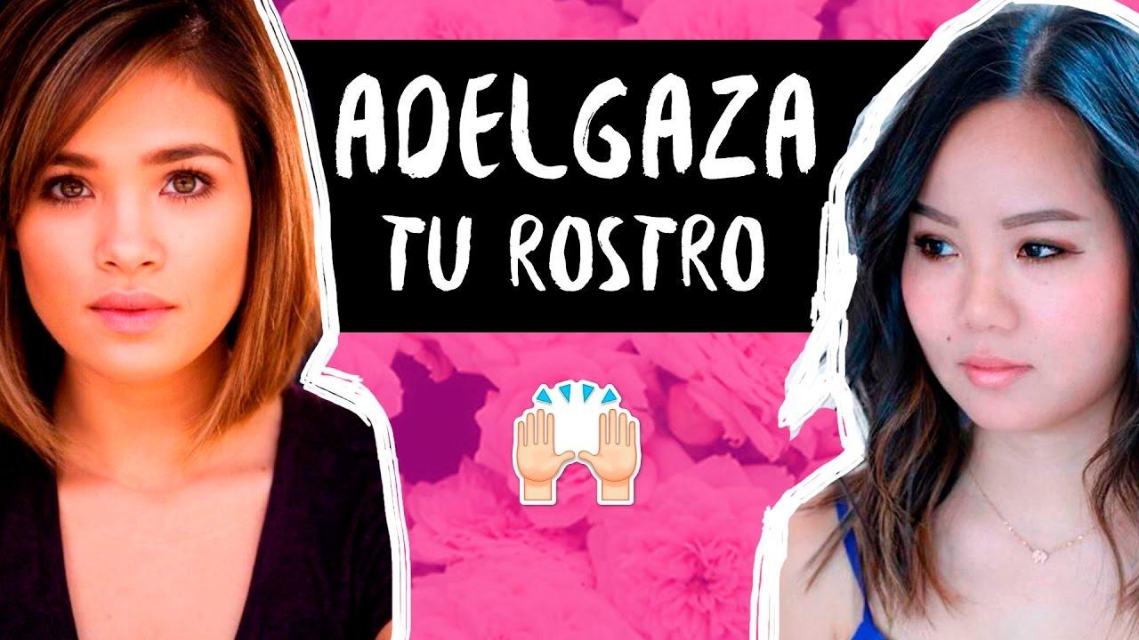 CORTES para CARA REDONDA o CACHETONA♡ - YouTube