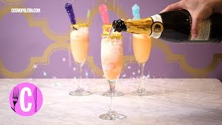 These unicorn mimosas will make your brunch even more lit. SUBSCRIB...