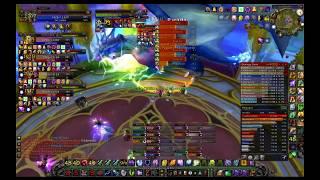 Enha Shaman Private Server Wow Excalibur CSM CTM vs Kalecgos (First Kill)
