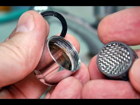 Faucet Aerator Cleaning