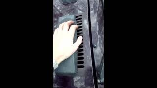 видео Как открыть капот ВАЗ КЛАССИКА (БЕЗ ТРОСА - ОДИН ЗАМОК)