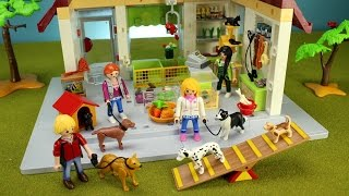 Playmobil City Life Pet Store Playset with Dogs, Animals - Fun Toys For Kids