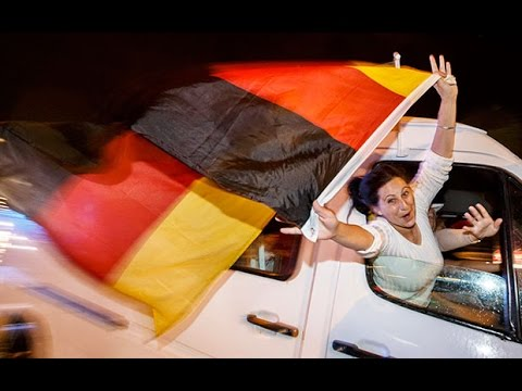 Germany fans party around the globe