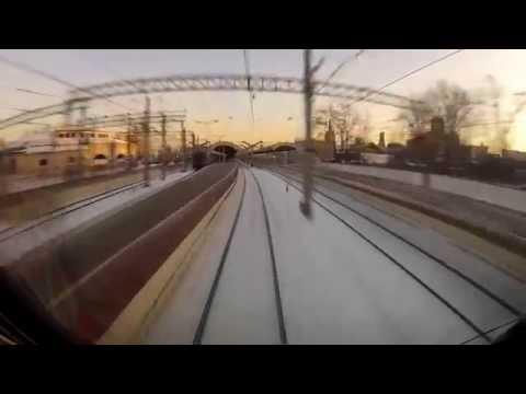 поезд Санкт-Петербург - Москва под Darkstep за 43 минуты