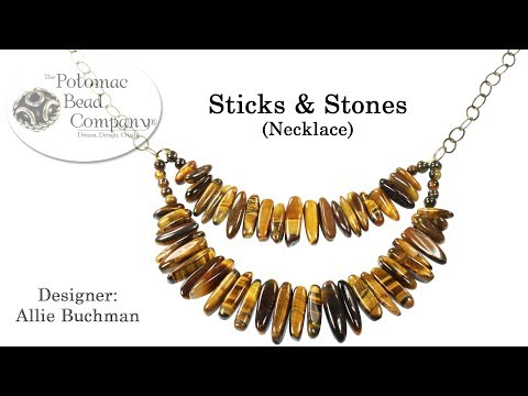 Sticks & Stones Necklace (Tutorial)