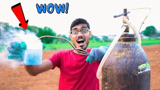 Making Liquid Oxygen | It is Awesome But करती है जोरदार धमाका |