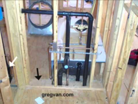 bathroom plumbing vent stack diagram clarion cz100 wiring why do i need a 2 x 6 wall? - remodeling and home building youtube