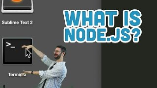 15.1: What is Node.js? - Twitter Bot Tutorial