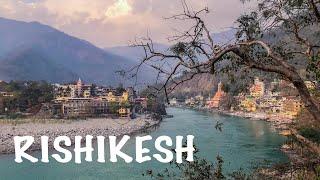 Rishikesh from above.