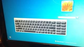 Если сломалась клавиатура - как набрать пароль, запустить виртуальную клавиатуру Windows