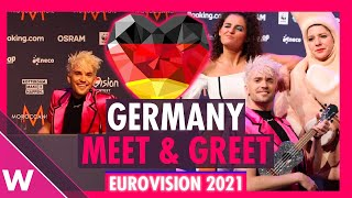 "Germany Press Conference: Jendrik ""I Don't Feel Hate"" @ Eurovision 2021"