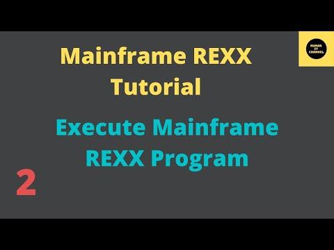 Mainframe Tutorial REXX - 2