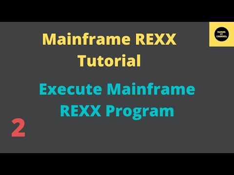 Mainframe Tutorial REXX - 2