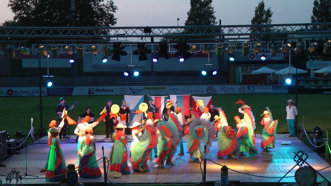 Costa Rica folk dance - YouTube