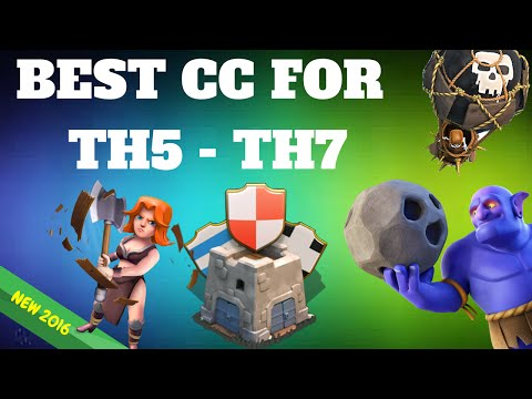 Best Defence TH5 -TH7 OP Troops In Clan Castle After Update Lose No More  Loot Clash Of Clans