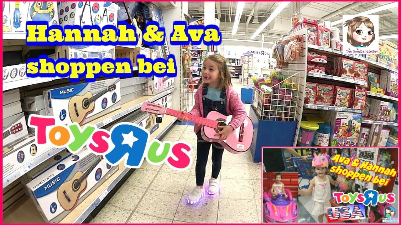 Hannah shoppt im toys r us 🛍 was kauft eine jährige