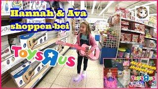 HANNAH SHOPPT IM TOYS R US 🛍 Was kauft eine 5-Jährige im SPIELZEUGGESCHÄFT ? 🛍 Partnervideo mit Ava