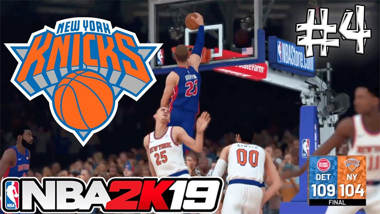 2k19 MYGM NEW YORK KNICKS REBUILD #4 | TOP 5 DRAFT PICK