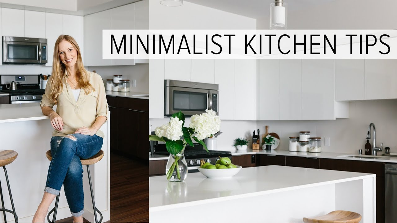 Creating A Minimalist Kitchen Clean Declutter And Simplify Youtube