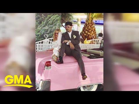 Jonas, Turner get married in Las Vegas Mp3