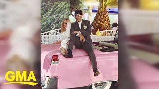 Jonas, Turner get married in Las Vegas Video