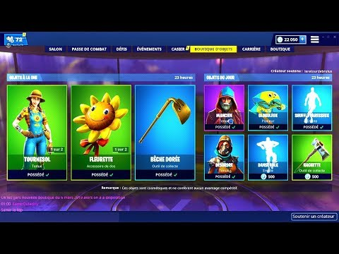 BOUTIQUE FORTNITE du 6 Mars 2019 ! ITEM SHOP March 6 2019 !