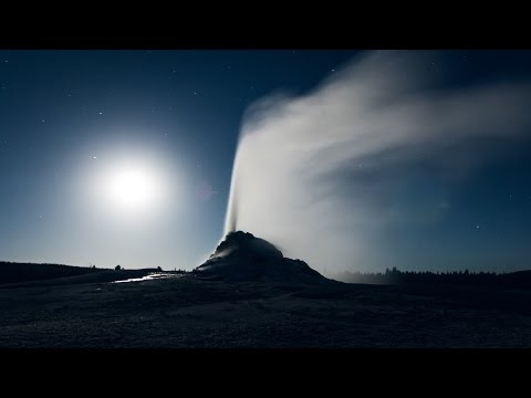 Yellowstone by Moonlight - Yellowstone National Park Time-Lapse