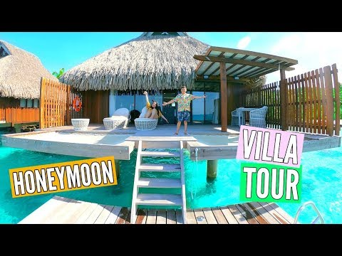 Our Dream Honeymoon! Bora Bora Villa Tour