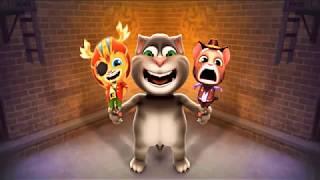 Говорящий кот Том | игра говорящий кот том | интересные блюда | интересные моменты  P3
