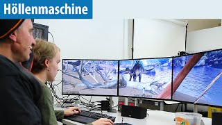 ARK: Survival Evolved auf der Höllenmaschine 7 mit User-Tester Sascha   Gaming-PC   deutsch / german