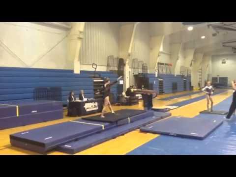 Coral Springs gymnastics meet level 9 - YouTube
