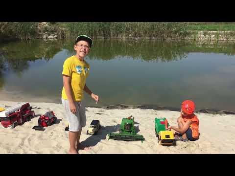 BRUDER развивающее видео для детей Изучаем разные виды спецтехники и автомобилей. Bruder Toys