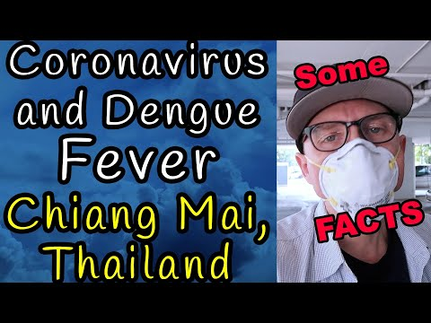 Coronavirus & Dengue Fever In Thailand : Chiang Mai, Thailand 2020 V076