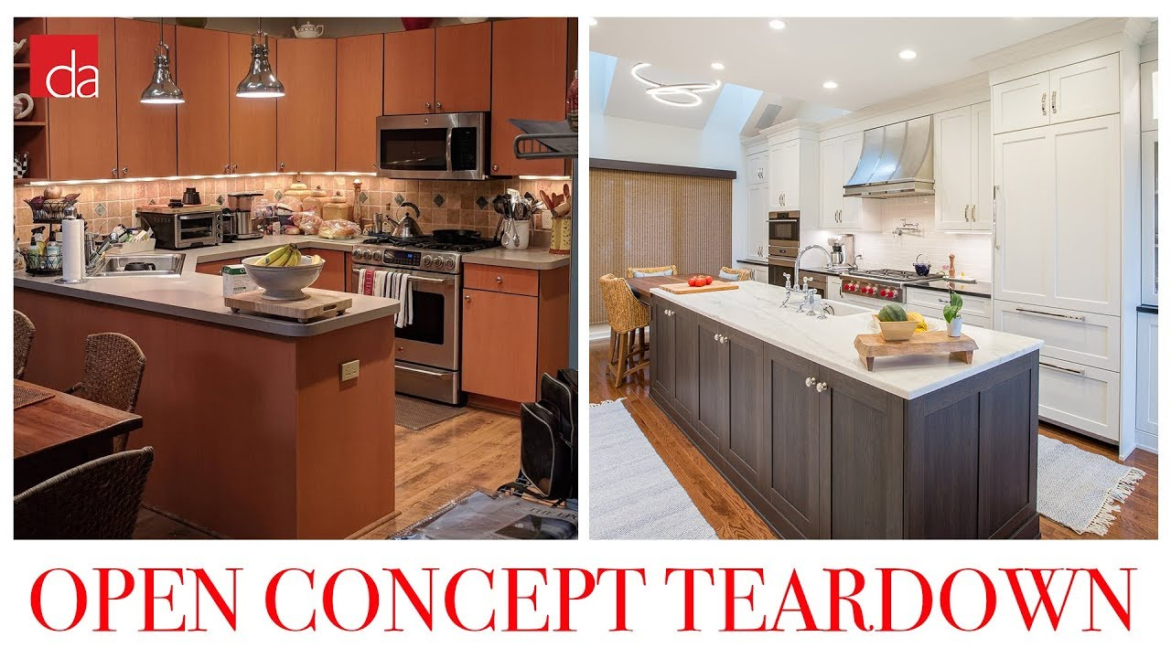 Kitchen Remodel Open Concept With Wolf Appliances Youtube