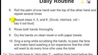 Potty Training - Set Up A New Daily Routine